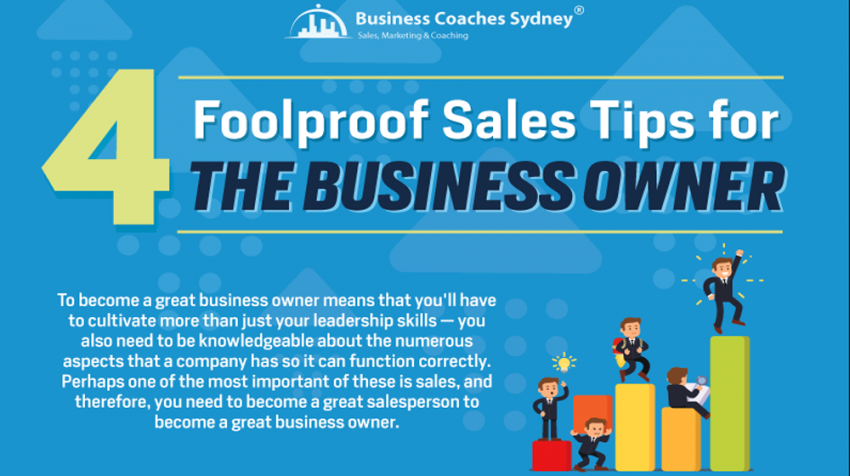 Small Business Sales Tips for Every Owner (INFOGRAPHIC)