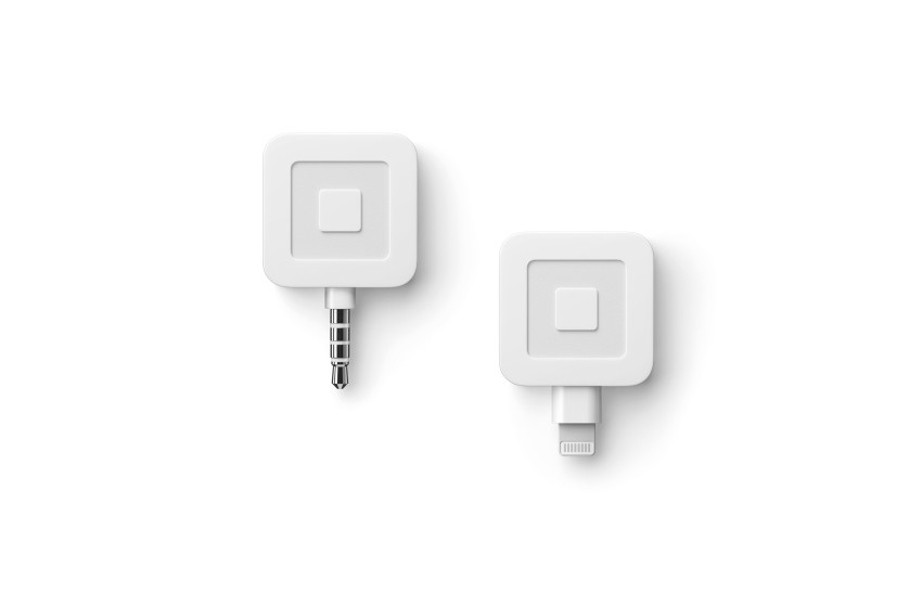Square Reader works on new iPhones and Computers with No Adapter