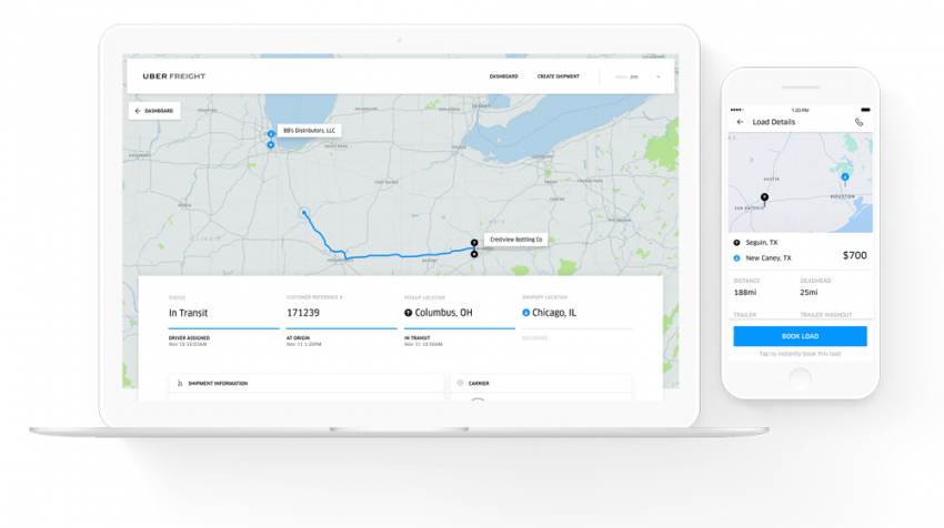 Uber Freight for Shippers: New Platform Finds Small Businesses More Shippers