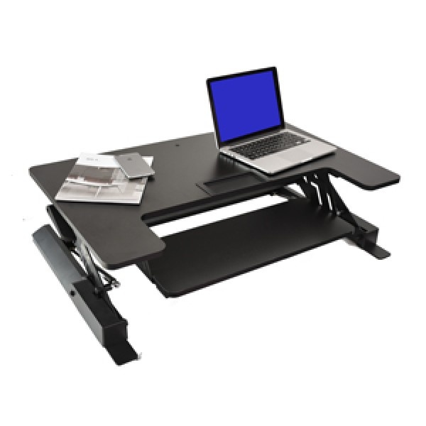 What is the Best Standing Desk for Your Business? - ApexDesk GX Desk Riser