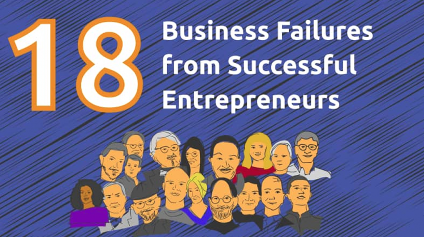 Successful Entrepreneurs Who Failed (INFOGRAPHIC)