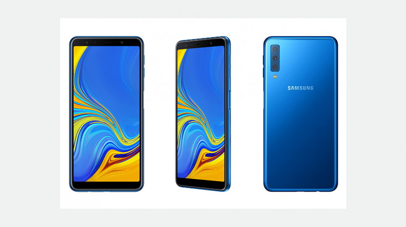 Samsung Announces Details for Big 6-inch 2018 Galaxy A7 Smartphone