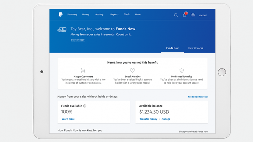PayPal Funds Now Feature Avoid Holds On Your Money