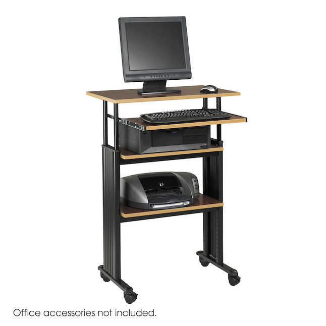 What is the Best Standing Desk for Your Business? - Safco MUV Stand-Up Adjustable Height Desk