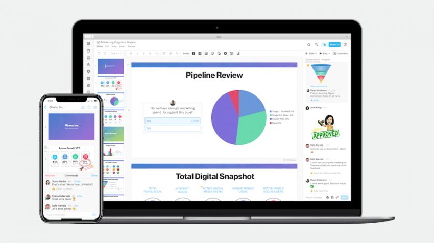 Salesforce Quip Slides Challenging PowerPoint and Google Slides