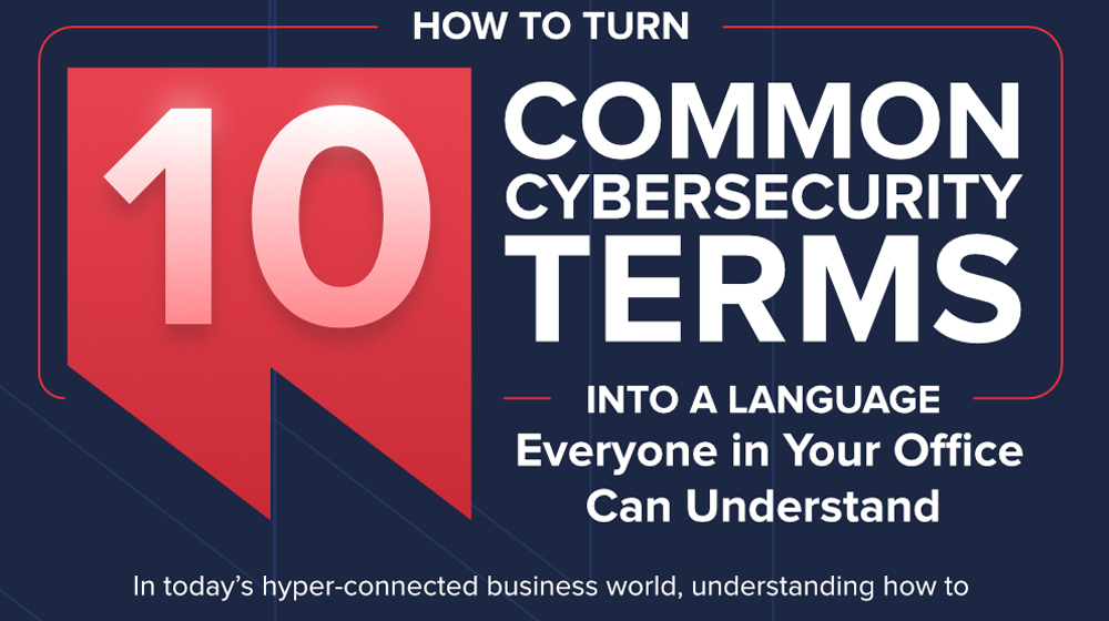 Unscrambling Cybersecurity Terms, Jargon, and Buzzwords (INFOGRAPHIC)