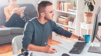 Work in A Home Office Like It's a Real Office