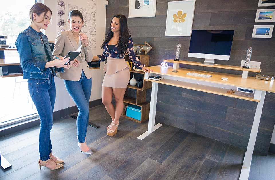What is the Best Standing Desk for Your Business? - Xdesk Terra 2