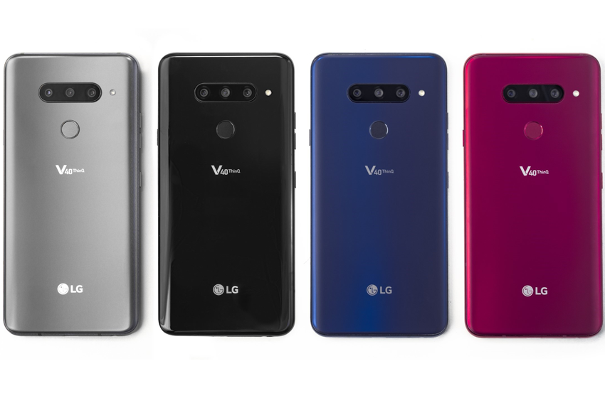 The New LG V40 ThinQ Has -- Count Them -- 5 Cameras!