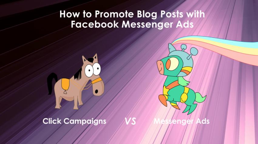 Messenger Ads for Blog Posts