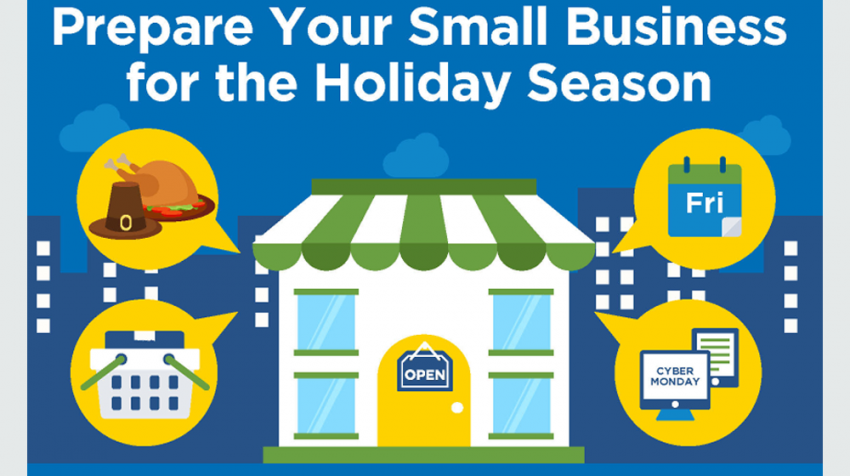 score tells small businesses to prepare for a busy holiday