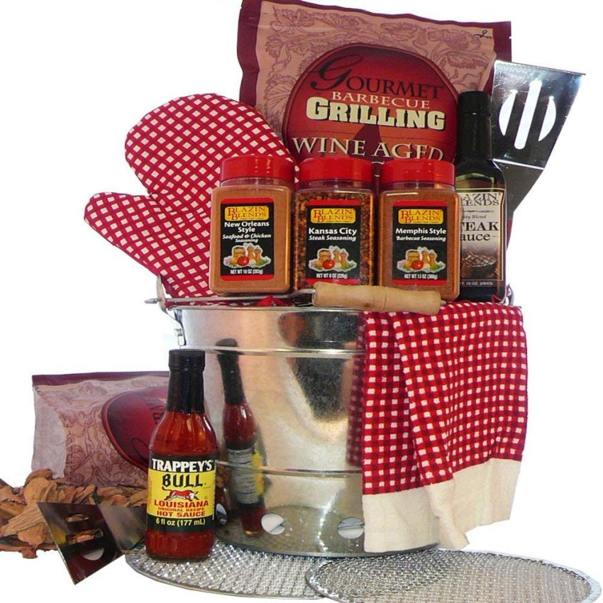 20 Holiday Gift Baskets for the Business Owner on Your List - Barbecue Gift Basket