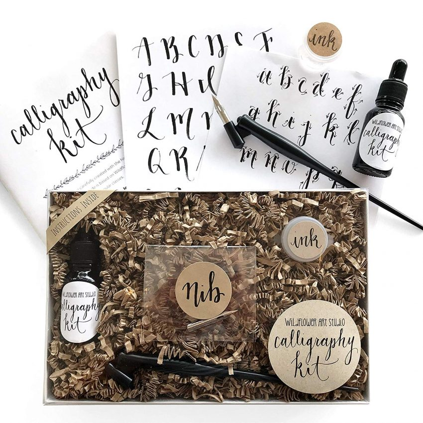 Food and Craft Gift Ideas for Your Business - Calligraphy Starter Kit