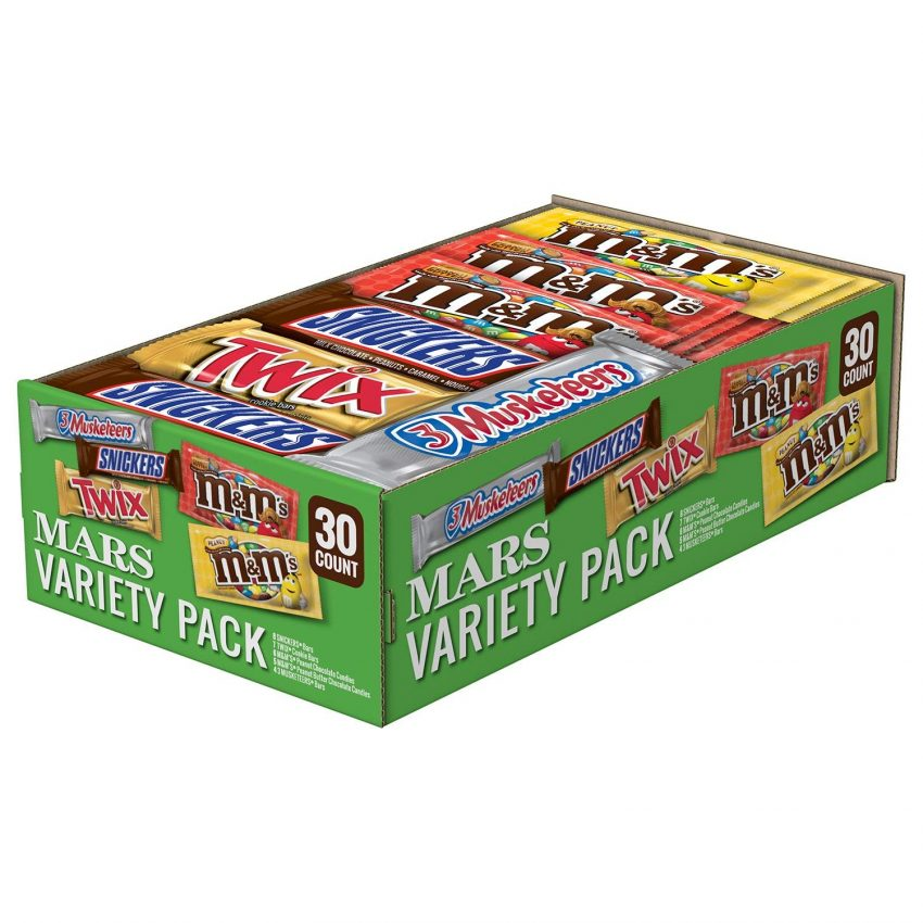 20 Christmas Gifts for Coworkers - Candy Variety Pack