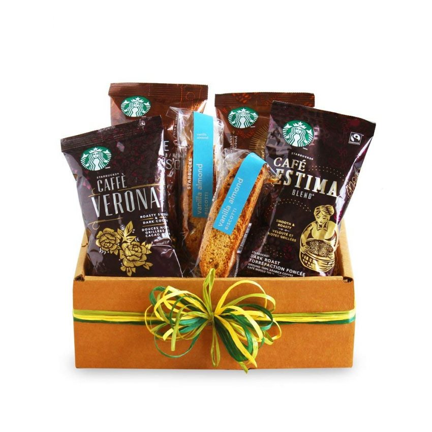 20 Holiday Gift Baskets for the Business Owner on Your List - Coffee Gift Basket