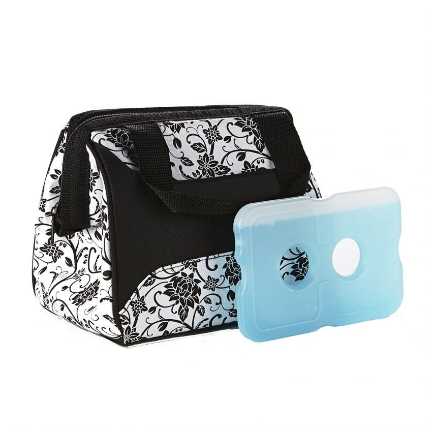 What is the Best Professional Lunch Box? Fit & Fresh Women's Downtown Insulated Lunch Bag