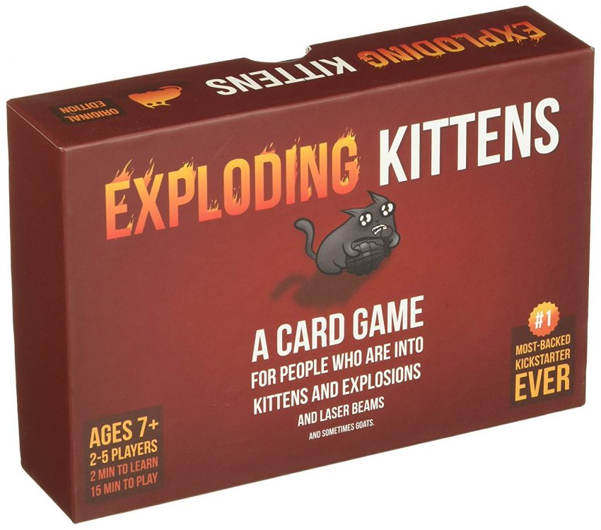 20 White Elephant Gift Ideas Your Staff Won't Want to Pass Up - Exploding Kittens