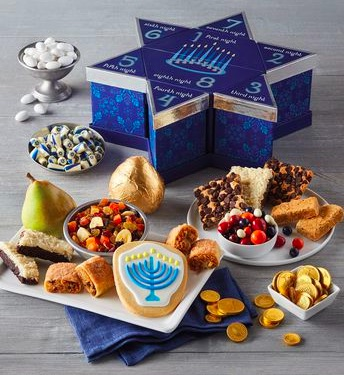 20 Holiday Gift Baskets for the Business Owner on Your List - Eight Nights of Hanukkah Gift