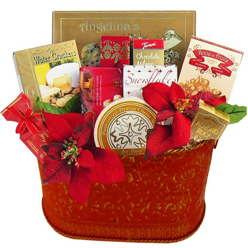 20 Holiday Gift Baskets for the Business Owner on Your List - Holiday Gourmet Food Basket