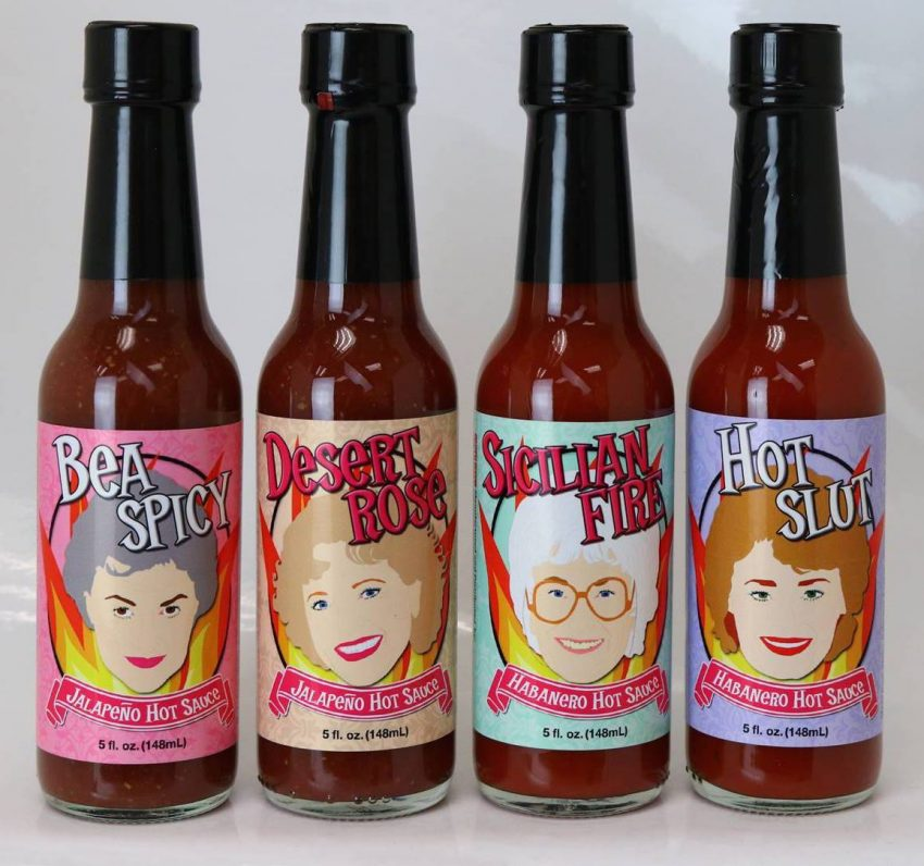 20 White Elephant Gift Ideas Your Staff Won't Want to Pass Up - Golden Girls Hot Sauce
