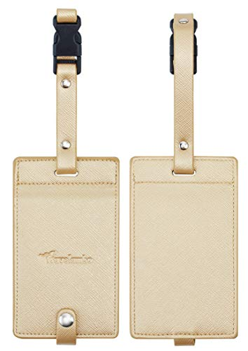 Clever Holiday Gift Ideas for Employees - Leather Luggage Tags