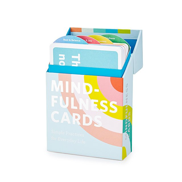 20 Best Business Gifts for Under 25 Dollars - Mindfulness Card Set