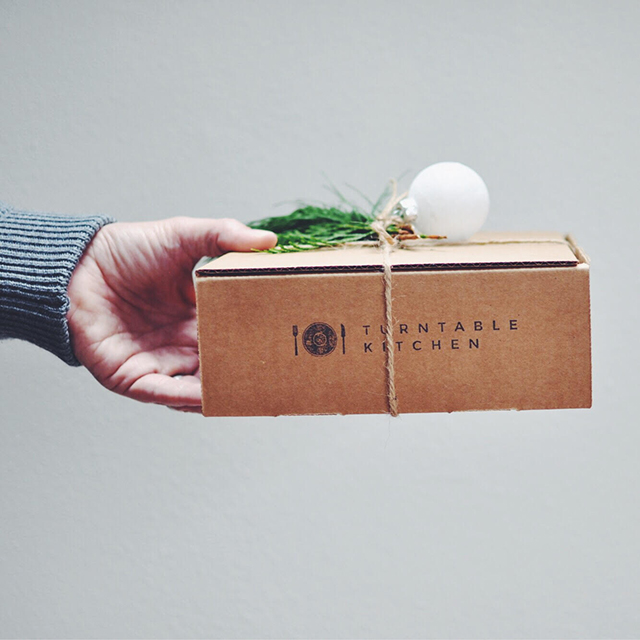 Food and Craft Gift Ideas for Your Business - Turntable Kitchen Pairings Box