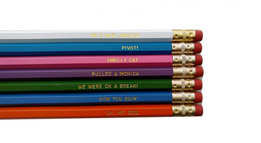 Secret Santa Gift Ideas for Your Next Office Party - Engraved Pencil Set