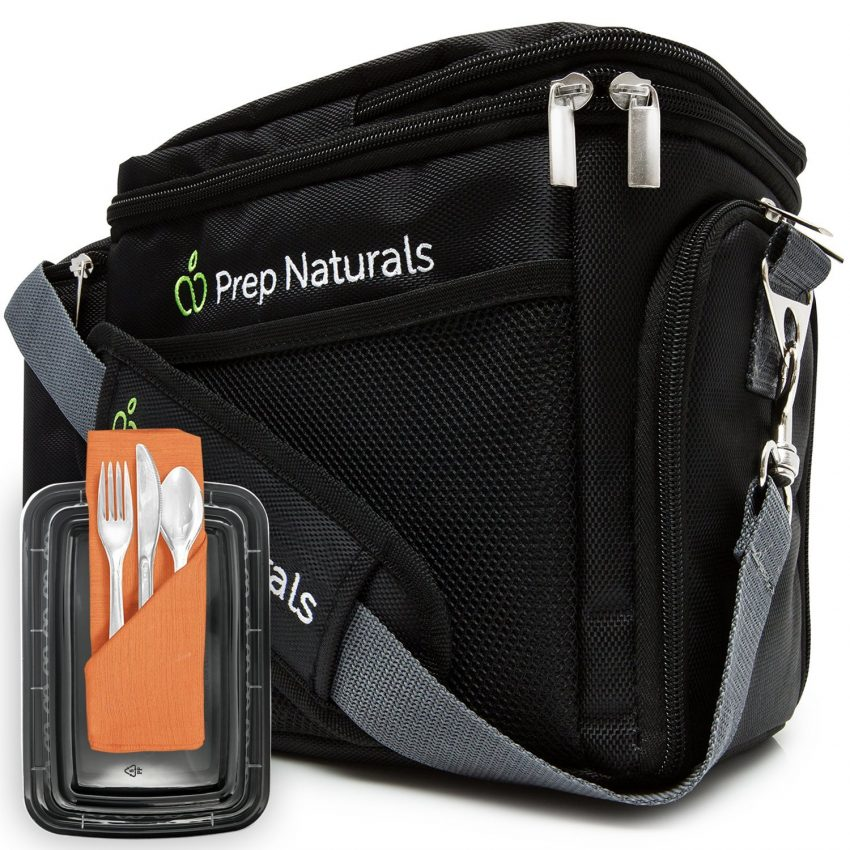 What is the Best Professional Lunch Box? Prep Naturals Meal Prep Bag