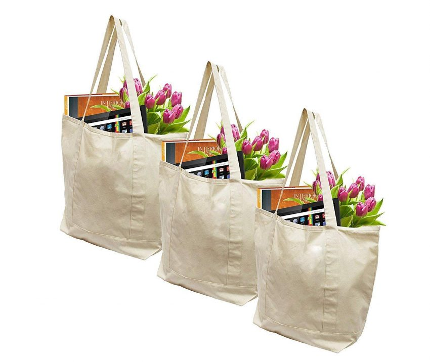 20 Best Business Gifts for Under 25 Dollars - Reusable Shopping Bags