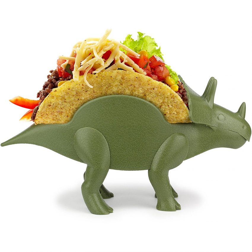 20 White Elephant Gift Ideas Your Staff Won't Want to Pass Up - Dinosaur Taco Holder