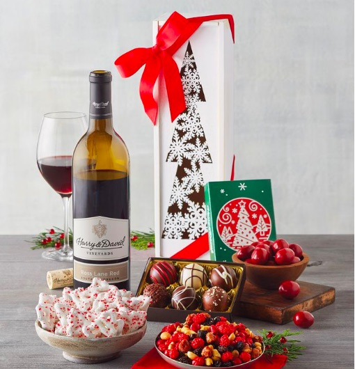 Food and Craft Gift Ideas for Your Business - Wine Gift Box