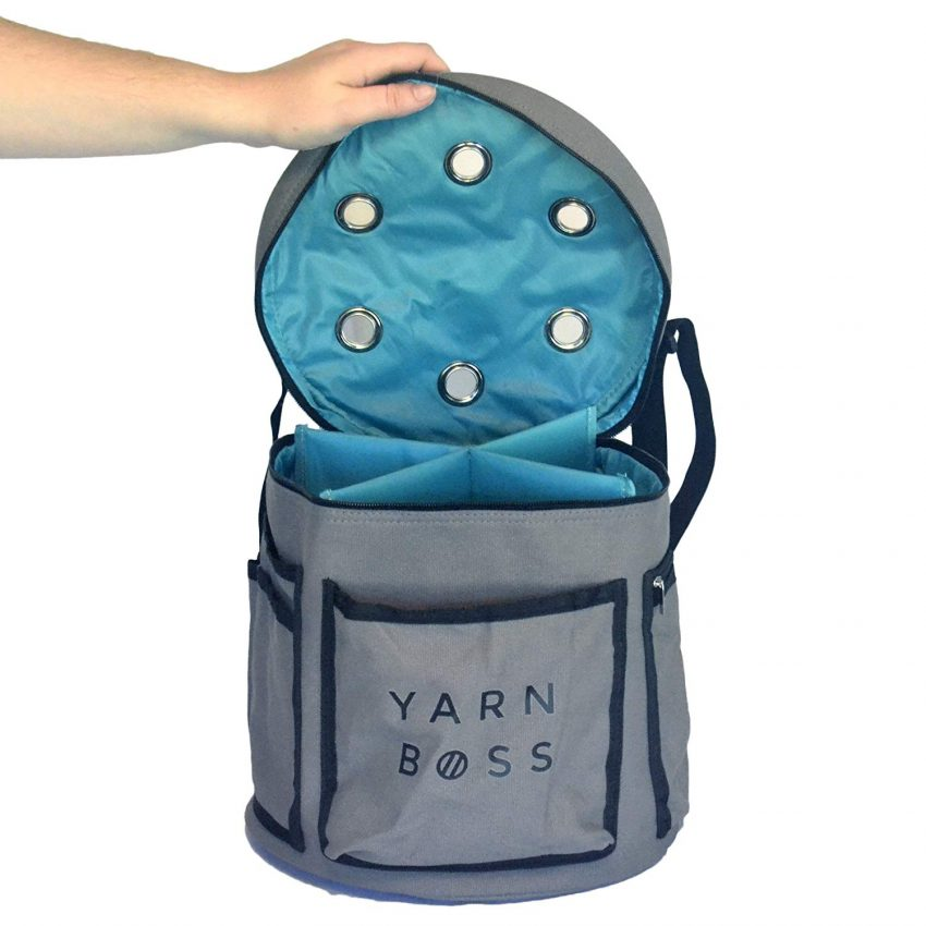 Food and Craft Gift Ideas for Your Business - Yarn Travel Bag