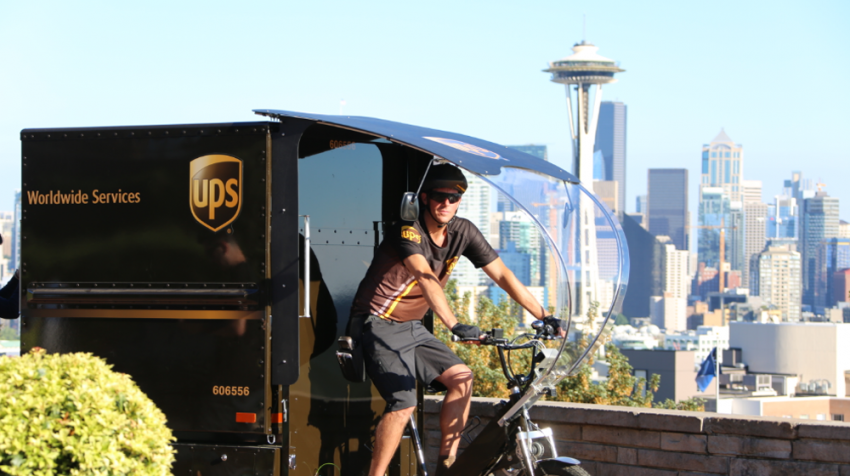 Coming Soon: UPS eBike Delivery in Seattle