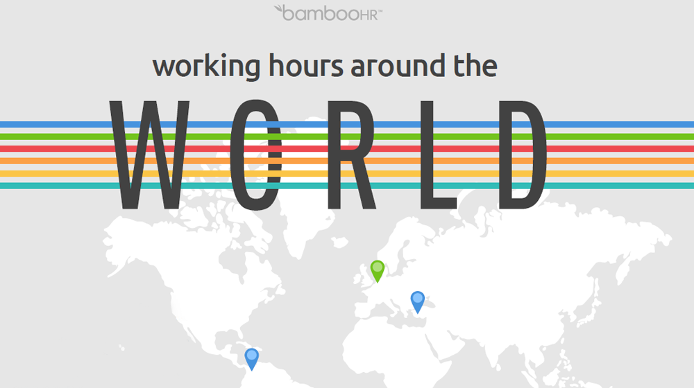 What are Normal Working Hours Around the World? (INFOGRAPHIC)