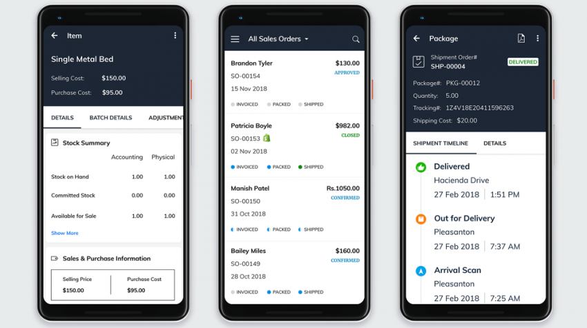 Zoho Inventory App Takes Functionality Mobile