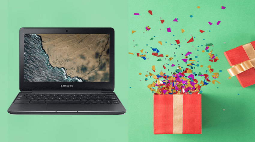 Win a Chromebook This Black Friday!