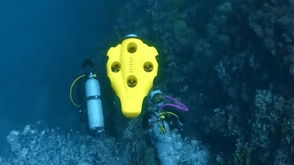 Check This Out! The First Autonomous and Wireless iBubble Underwater Drone