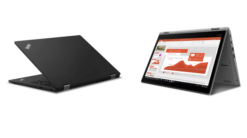 New ThinkPad L390 Series Laptops Designed for Small Business Users