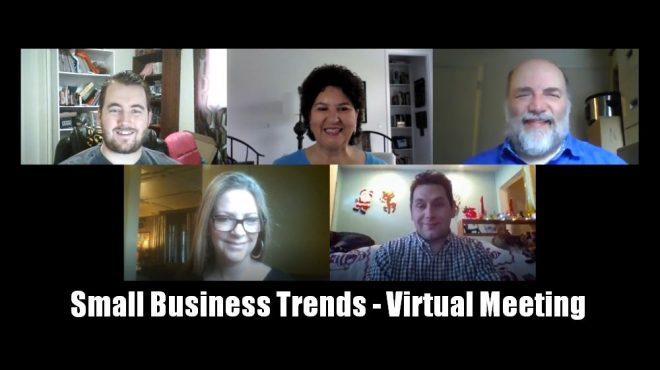 Small Business Trends - Executive Team - virtual leadership meeting
