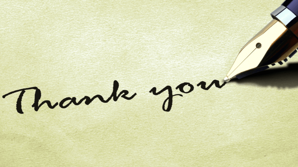 Sample Small Business Thank You Letters To Get You Started Small Business Trends