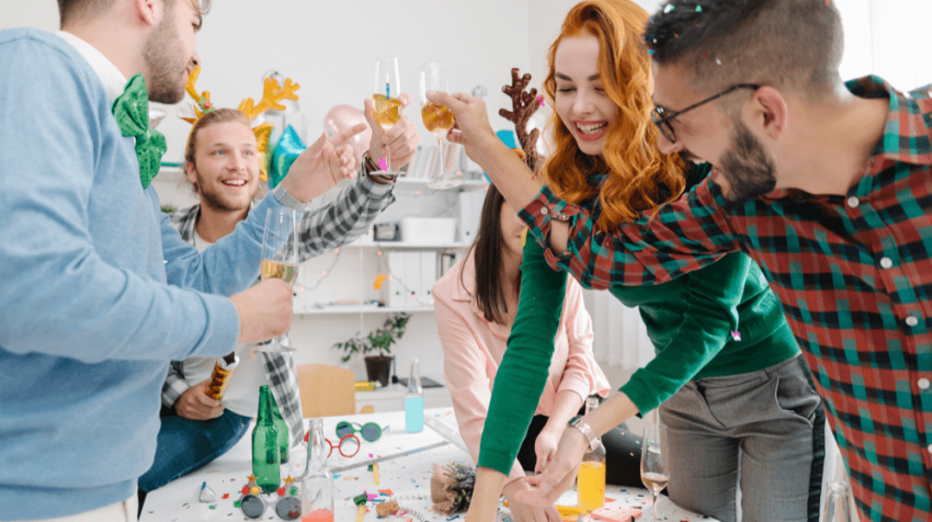 Office Parties for Introverts (INFOGRAPHIC)