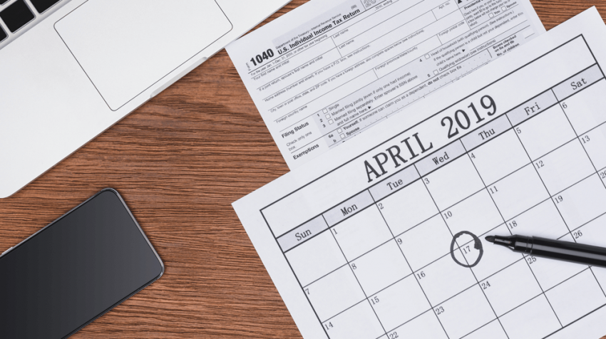 2019 Tax Calendar -- All the Important Dates to Know