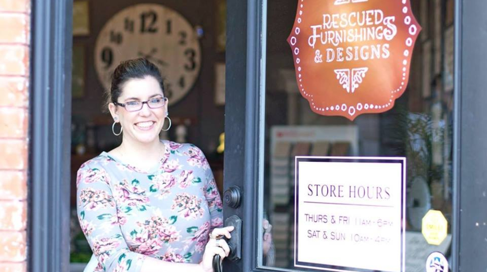 Home Remodeling Business, Rescued Furnishings, Offers a Unique Mix of Decor Products and DIY