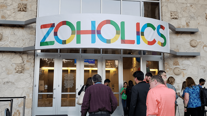 Zoho Wows Zoholics with eCommerce, Marketing Automation and Business Process Solutions