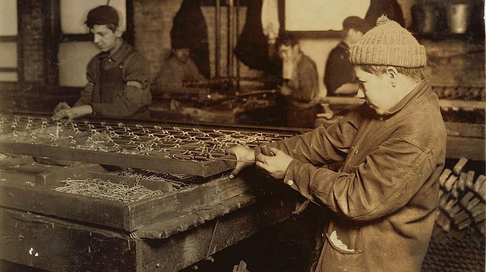 bed spring linker - child labor