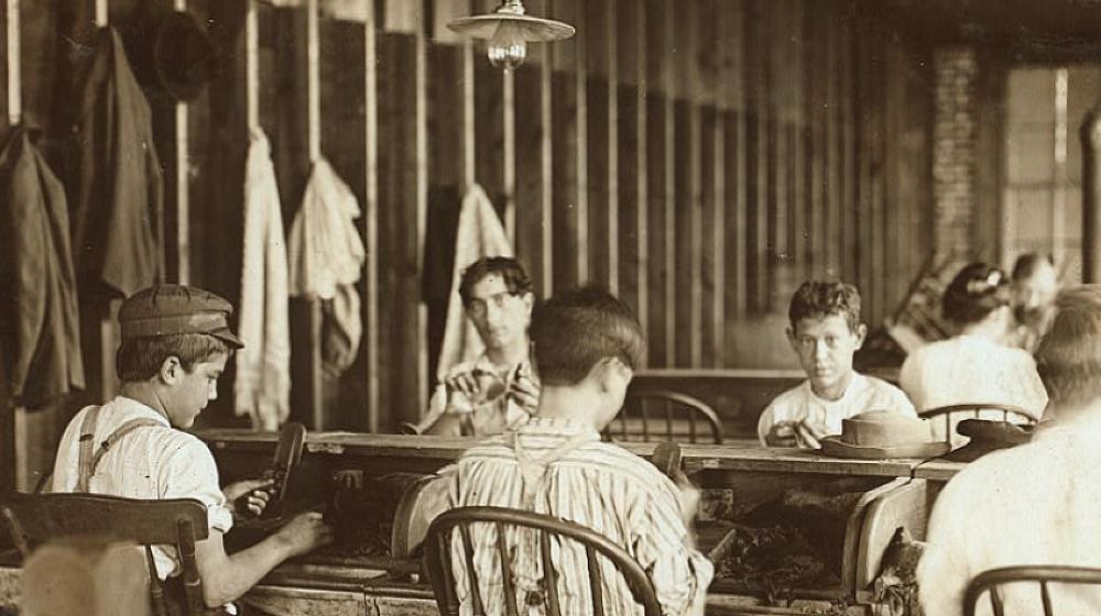 cigar maker apprentice