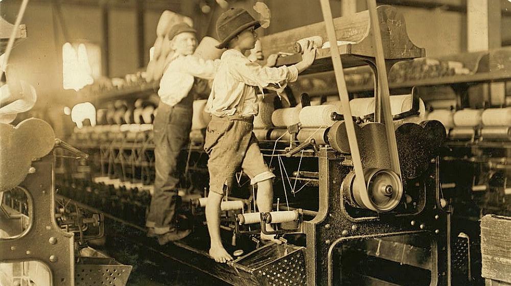 Doffer - child labor