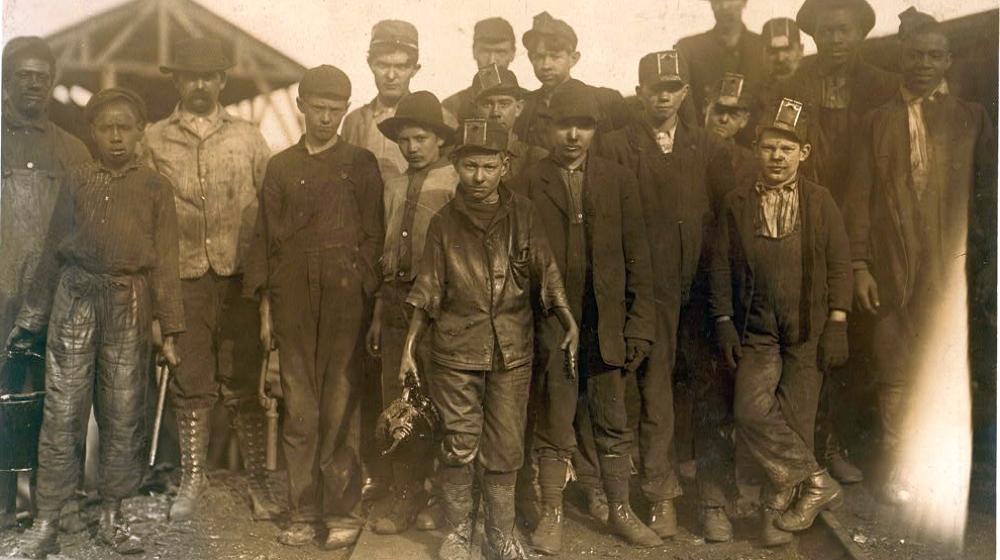greaser coal mine child labor
