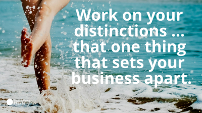 sales quote distinguish yourself from others